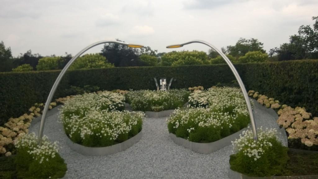 de tuin op 28 juni 2014